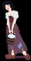 Peasant Princess: Snow White by Tella-in-SA