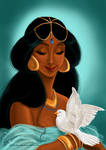 Her royal highness, the Sultana Jasmine of Agrabah