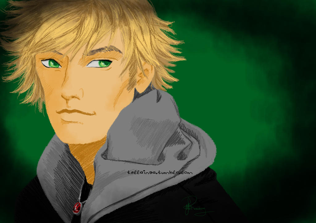 Adrien Agreste by Tella-in-SA