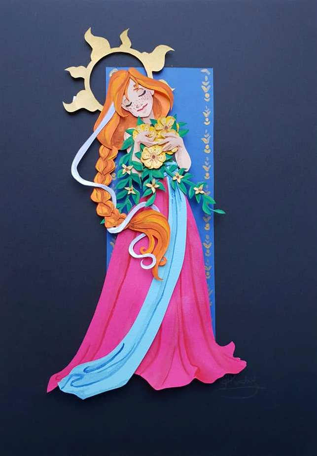 Paper Princess Anna