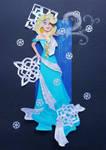 Paper Princess Elsa