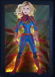 Captain Marvel by Tella-in-SA
