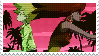 Michiko to Hatchin Stamp by WithTheLazersAndSuch