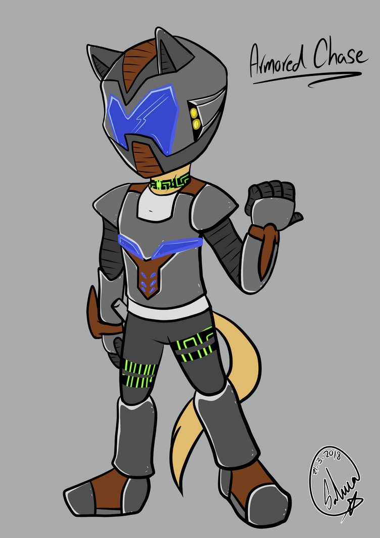 Armored Chase (Request) by Timeward