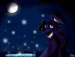 A Night Dressed in Blue by Elana-Louise