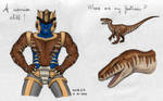 Dinobot doodle