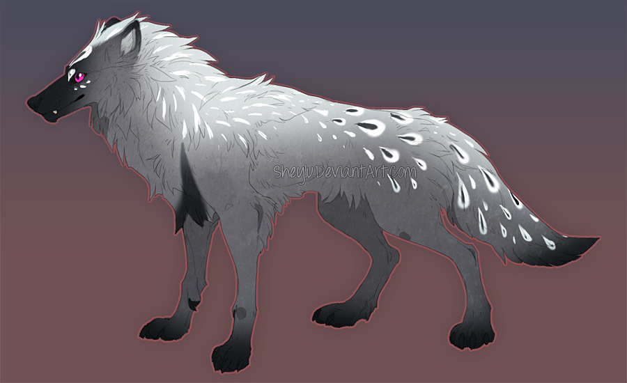 Wolf Adoptable 15 by Sheylu