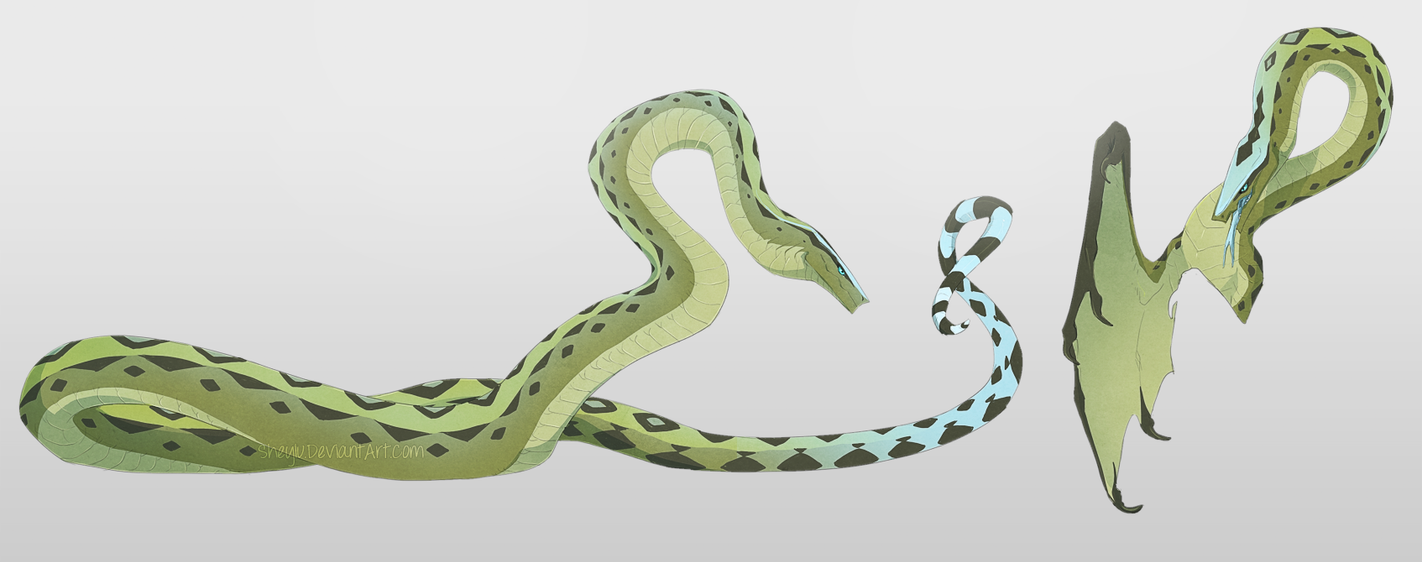 Serpent by Sheylu