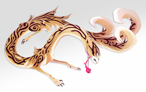 Adoptober: Gold Filigree by QuillCoil