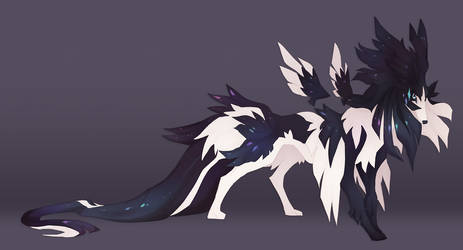 Blue Collie by QuillCoil