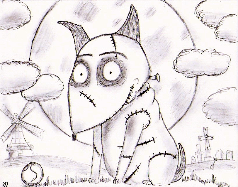 Frankenweenie By Lemonpurple On Deviantart