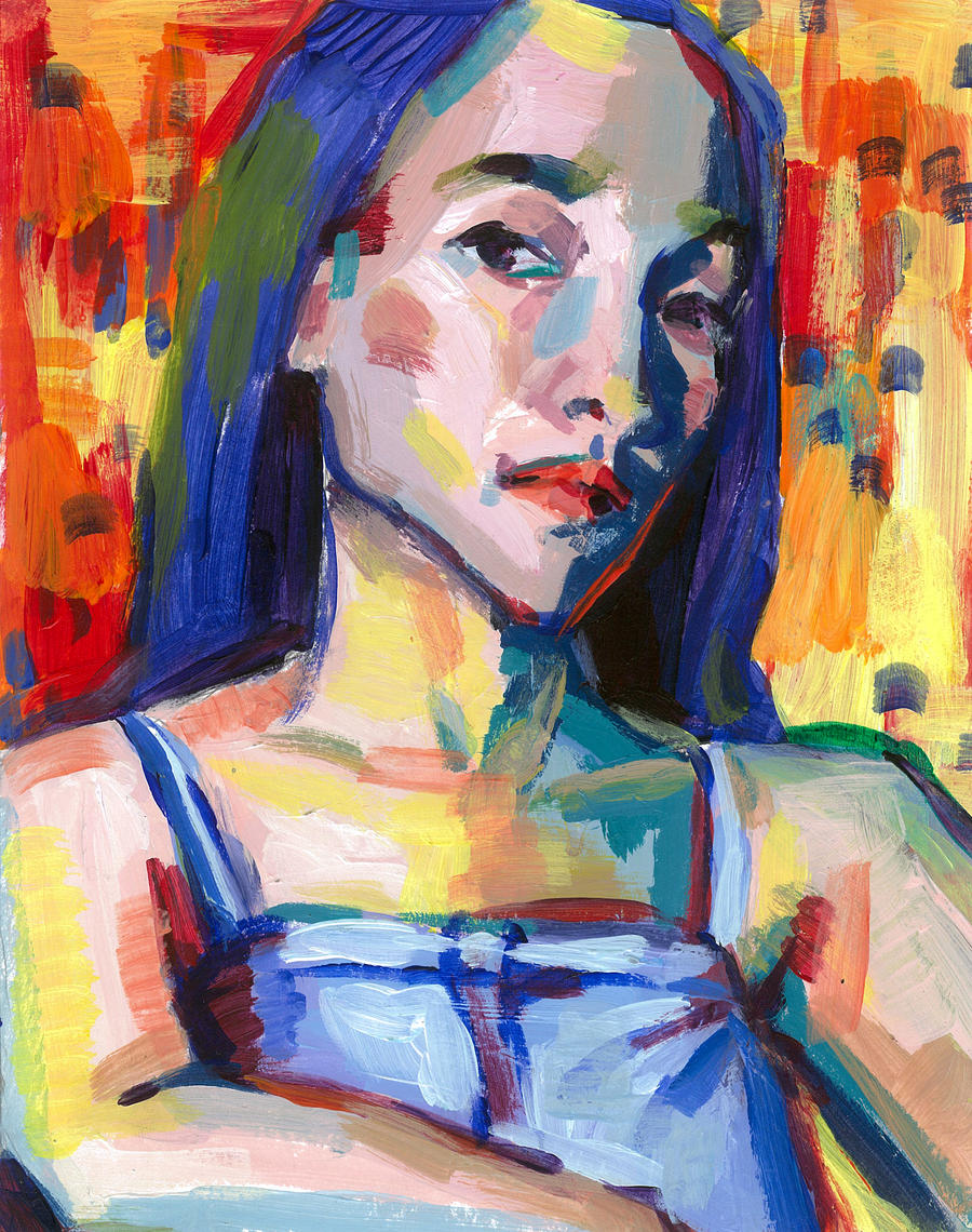 fauvist_Fauvism self-portrait by CindyyanX on DeviantArt