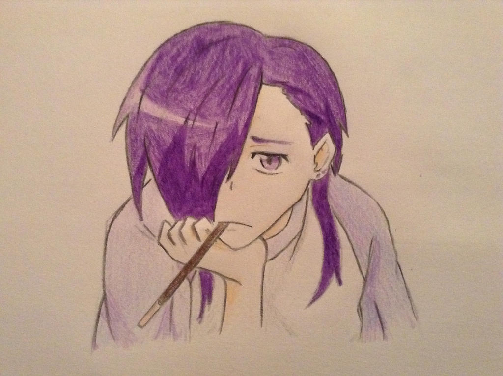 Lucifer The Devil Is A Part Timer Drawing