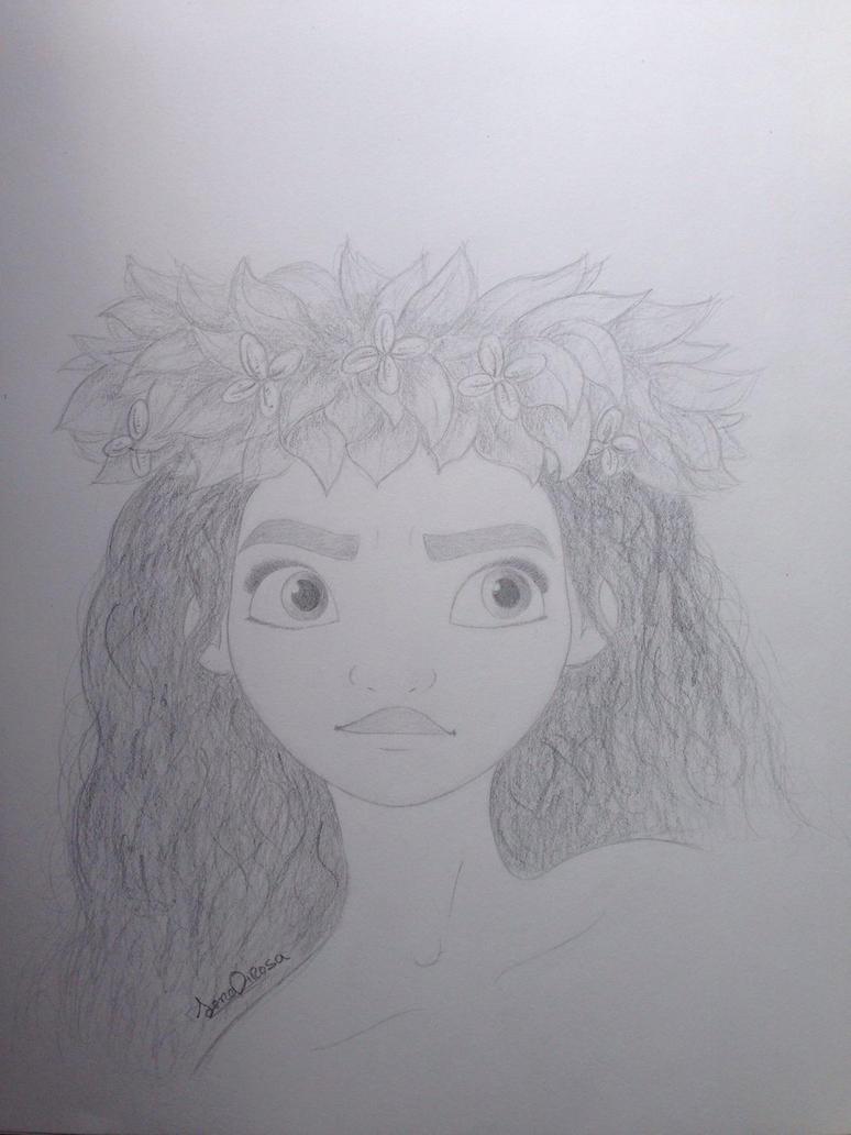 Moana Portrait by droppingravityfalls