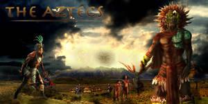 The Battle has Begun - The Aztecs by zeezeeazc123
