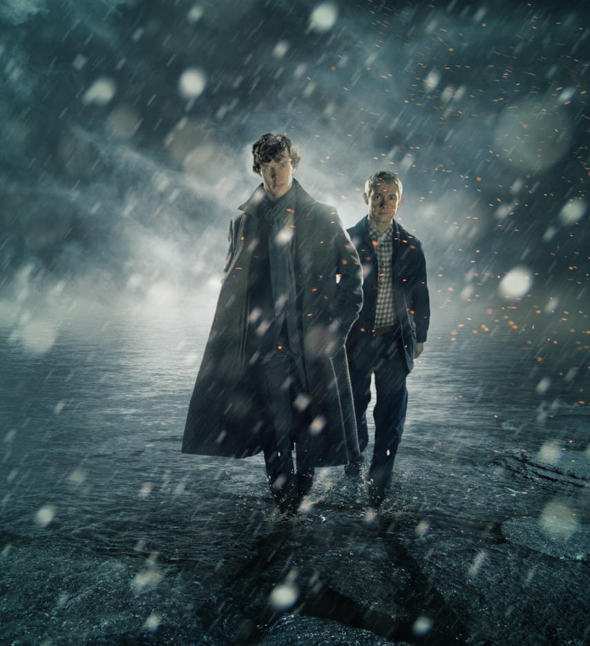 We're Back - Sherlock BBC by zeezeeazc123