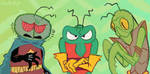 Mantis Men by pastarrie
