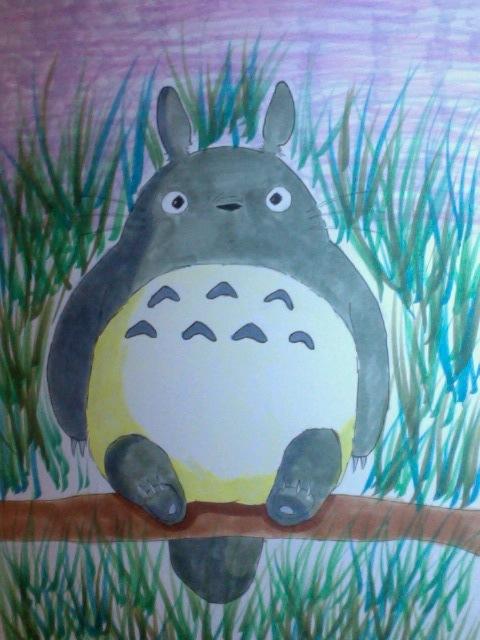 Totoro~ by Yuna-Heavrth