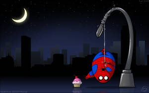 FAT Heroes: Spiderfat by zillabean