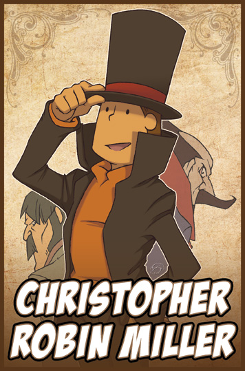 Layton badge for Chris Miller by zillabean