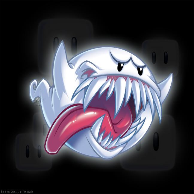 Creepy Boo By Zillabean On Deviantart