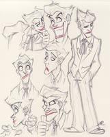 Joker Expressions by zillabean