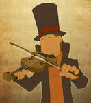 Play him off, Violin Layton