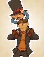 I want a piggyback, Professah! by zillabean