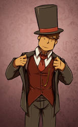 Ladies love a well-dressed man by zillabean