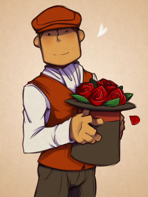 A hatful of roses by zillabean