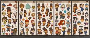 99 Stickarats:  A PL Sticker Set