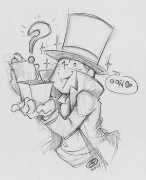 Goofy Layton Sketch:  2Hoots suggests...