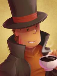 Enjoying a cuppa by zillabean