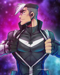 SUPER SPACE DAD by zillabean