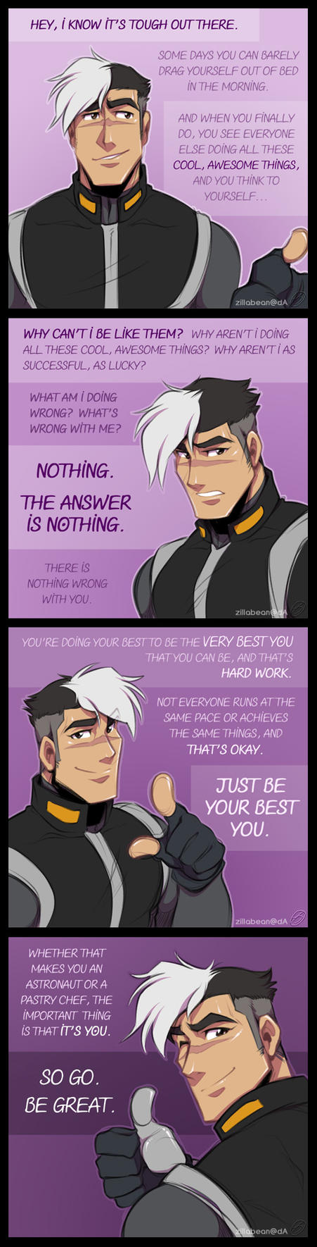 Motivational Space Dad by zillabean