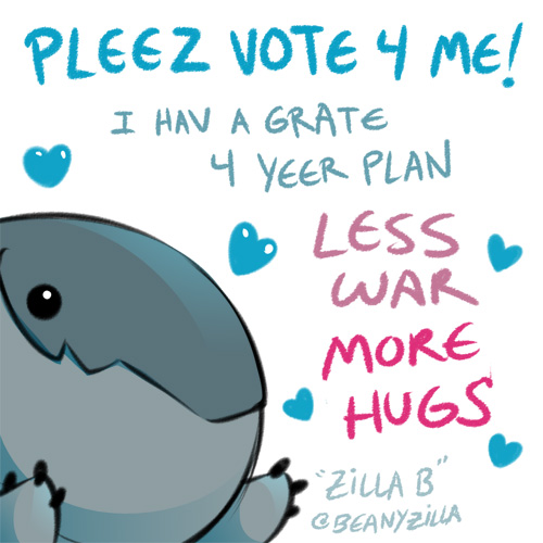 Vote for Baby Pillbug! He's got big dreams! by zillabean