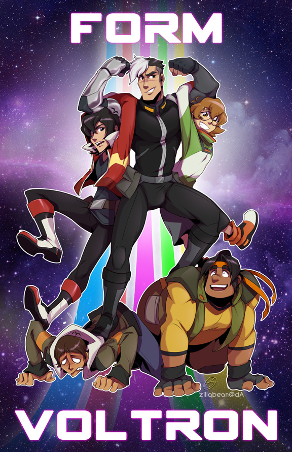 FORM VOLTRON by zillabean on DeviantArt