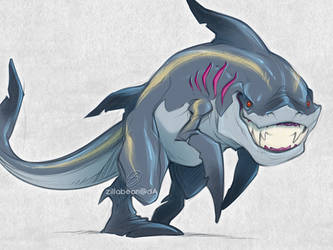 Sharkman I guess by zillabean
