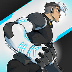 Give Shiro an Altean Arm by zillabean
