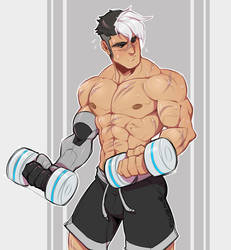 Yeah you gotta work out the robo-arm too by zillabean