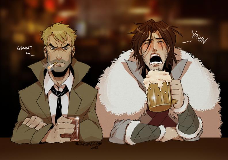 So 2 demon hunters walk into a bar... by zillabean