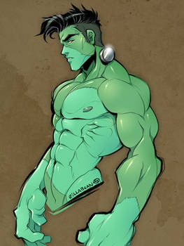 Handsome Franky by zillabean