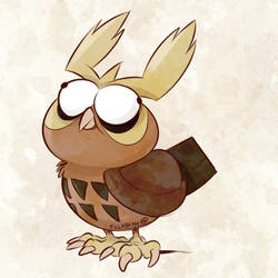 Derpamon #2 | Noctowl by zillabean