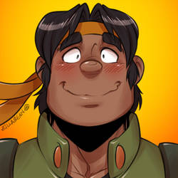 Let's Voltron 5th Anniversary | 9:14 | Hunk by zillabean