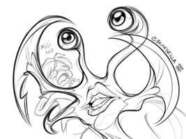 Migi doodling