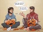 Commission: Pumpkin carving