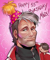 Happy 55th Birthday, Mads!