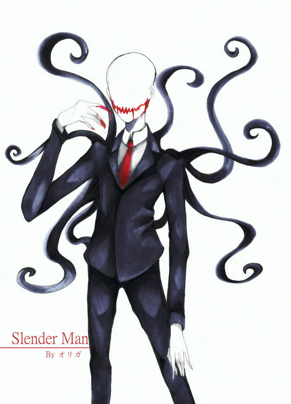 Slender Man by Mikuni4ka