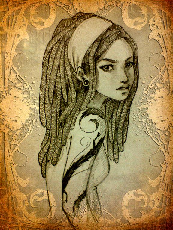 Rastagirl by ladyfish on deviantart - Reggae girl wallpaper ...