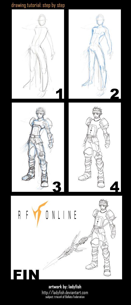 RF Online: Drawing Tutorial by ladyfish